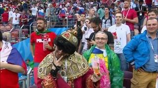 RUSSIAN FAN TZAR FIFA2018 (Espana 1 : Russia 1)