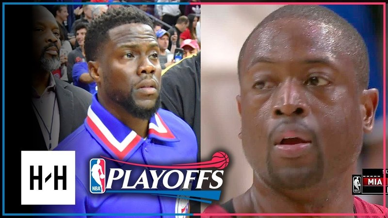 FATHER PRIME Dwyane Wade Full Game 2 Highlights Heat vs 76ers 2018 Playoffs 28 Pts off the Bench