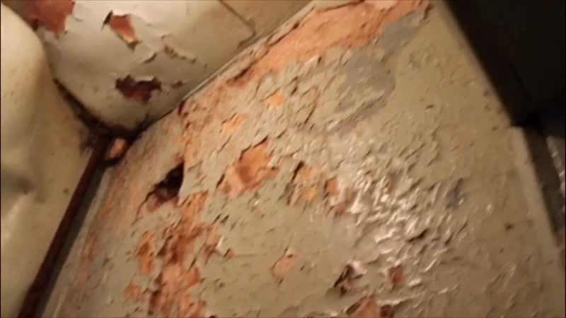 Нечеловеческие условия проживания жителей аварийных домов в пос. Пироговский