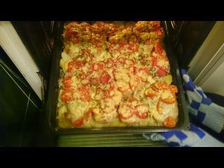 Мясо по-французски с картошкой в духовке Рецепт как приготовить блюдо пошагово вкусно ужин быстро