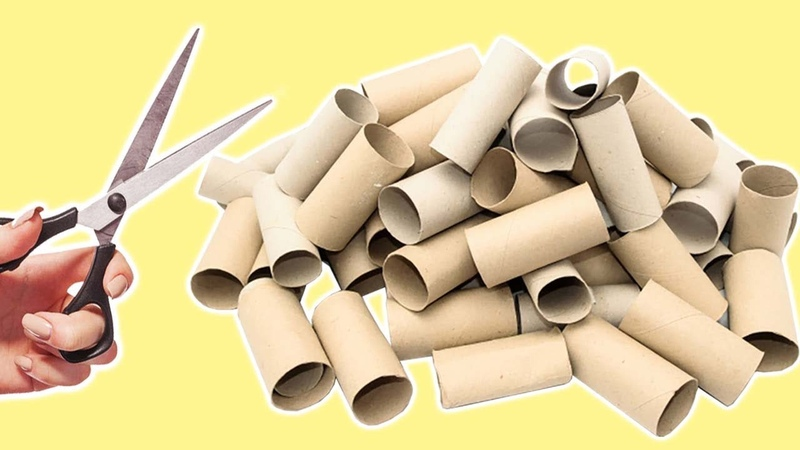 6 Ways To ReUseRecycle Empty Tissue Roll| Best Out of Waste