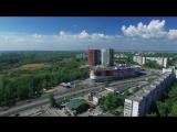 Начало лета в Ульяновске с высоты