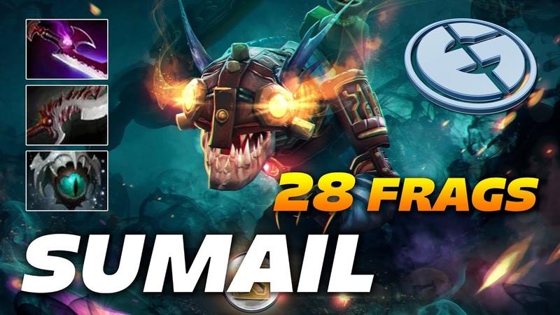 Sumail Slark | 28 Frags | Dota 2 Pro Gameplay