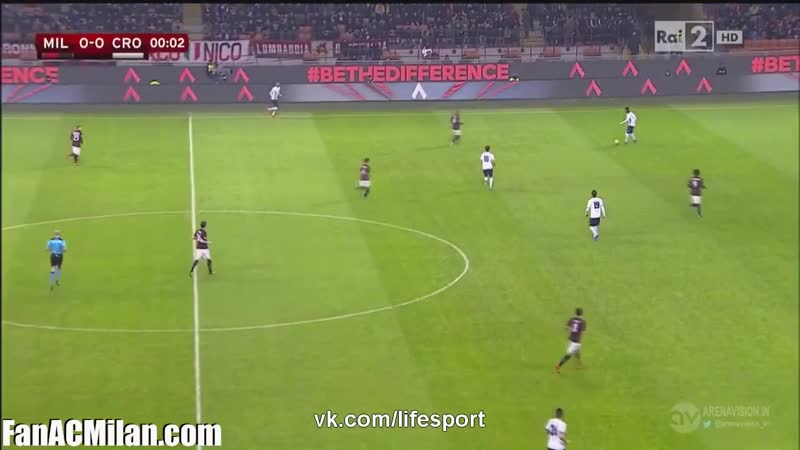 КИ 1^16 Милан 3-1 Кротоне (01.12.15)