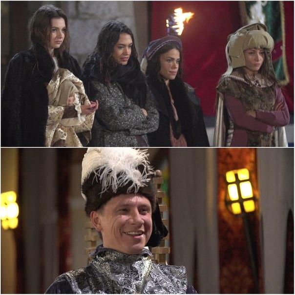 В новой серии Тимур с девушками переместятся в средневековый замок и устроят турнир по метанию копий! Кому удастся поразить холостяка в самое сердце? ?
