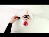 MAKE JACK JACK FROM THE INCREDIBLES OUT OF HEALTHY FOOD
