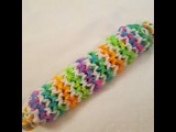 Rainbow Loom- как сделать пенал на ручек