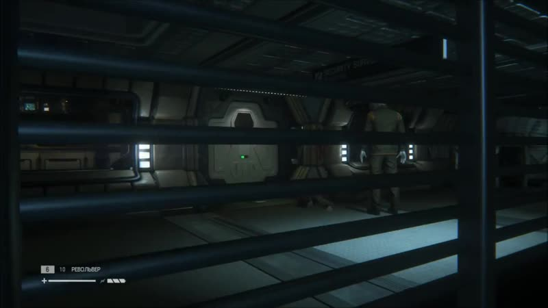 Alien- Isolation 04. Знакомство с андроидами_720p-