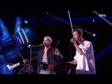 Bee Gees Stayin Alive - Kriill - The Voice France 2018 - Blind Audition
