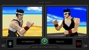 Virtua Fighter (Pc vs Sega 32X) Side by Side Comparison