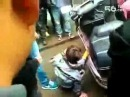 Child abuse caught on tape in China, trying to crush his fingers.