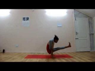 Leg to neck pose - Amit Namdev