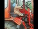 Учимся водить трактор