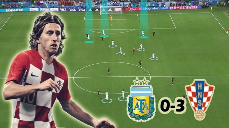 How Croatia destroyed Sampaoli's Tactics | Argentina vs Croatia 0-3 | Tactical Analysis | World Cup
