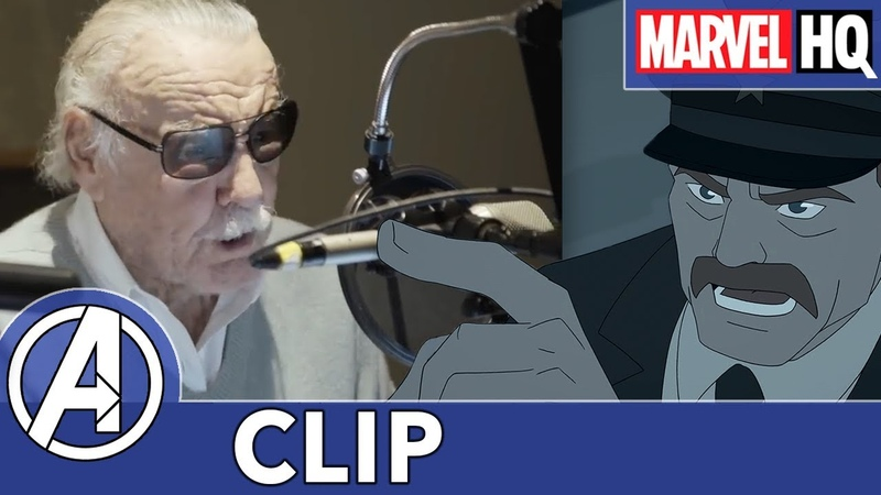 Stan Lee Speech Marvel's Avengers Black Panther's Quest Featuring Mark Hamill