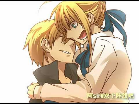 MAD Fate Stay Night Gilgamesh x Saber The Daily life of Saber and Gilgamesh