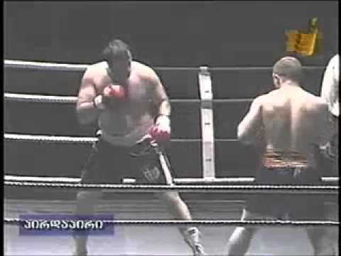BOXING.TBILISI 17 10 2003 г. Ричард Шрайгер (Алексей Осокин) против GEORGE KANDELAKI