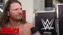 AJ Styles on why Seth Rollins can't be Phenomenal Raw Exclusive April 22 2019