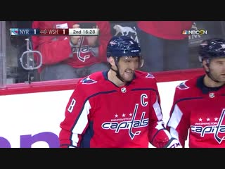 Ovechkin's power-play goal Oct 17, 2018