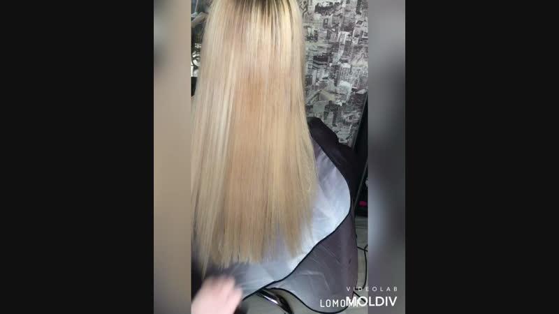 Плазмолифтинг волос