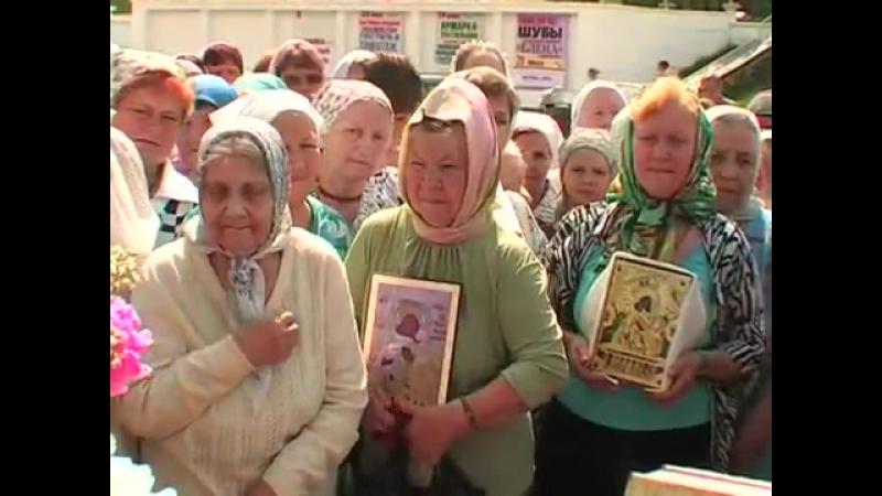 2012 06 14 Крестный ход с Владимирской иконой их Оранков