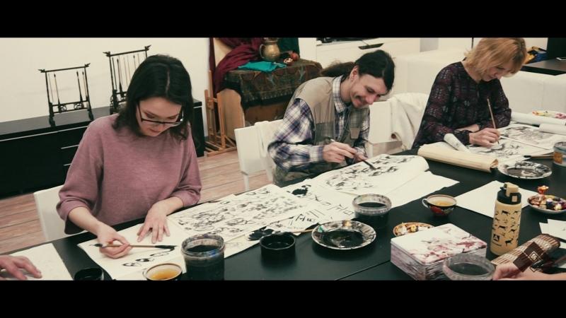 JiMinSTUDIO| ГОХУА | Китайская живопись.Отзыв Варвары Шевель и Кирилла Огаркова.