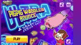 Пинбол со Свинкой Вадлзом из Гравити Фолз! ТВ Шоу Гравити Фолз PIG PIG WADDLES BOUNCE