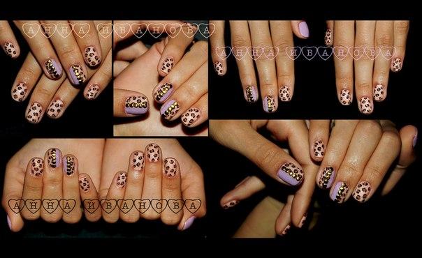 дизайн ногтей лаками: