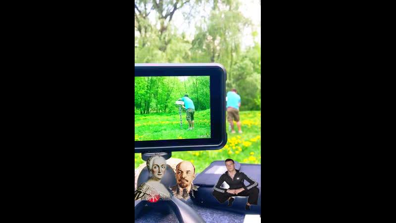 Бекстейдж со съёмок актёров-двойников