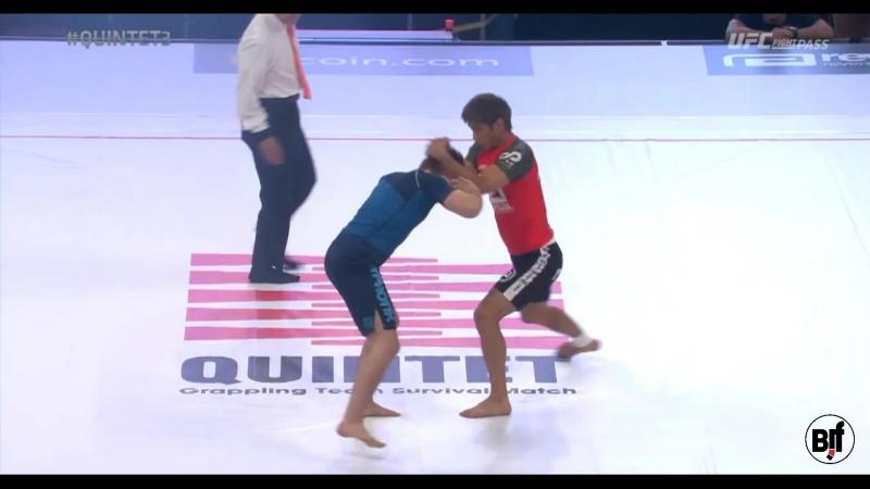 Nicky Ryan vs Hideo Tokoro quintet3 bjf grappling