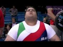 RAHMAN Siamand Islamic Republic of Iran Paralympic benchpress 301 kg HD