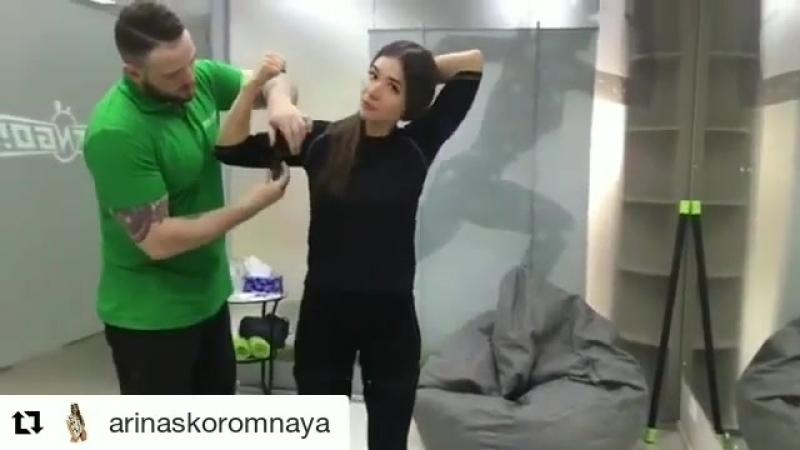 Арина Скоромная в студии FIT-N-GO