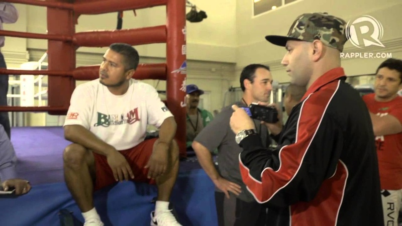 Freddie Roach fight with Brandon Rios' camp in Macau PacRios