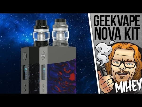 GeekVape NOVA 200W TC Kit. Красивый, но не без косяков.🎷🎻🎹🎸