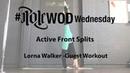 Lorna Walker - Active Front Splits   PoleWOD