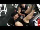 Флекс Льюис. Тренировка ягодиц. Защита титула МО ч.4 (дубляж канала Generation of Bodybuilding) #подольск #город #спорта