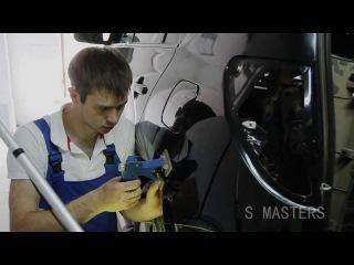 Ремонт вмятин без покраски в Уфе - S Masters
