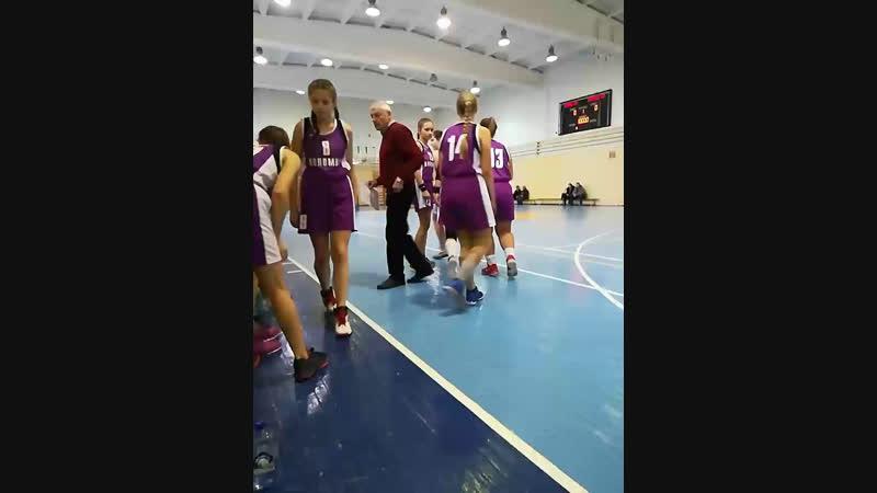 баскетбол Коломна-Серпухов 2004