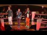 Stepan, Theodore Noah - Treasure - The Voice Kids Germany (Battles 2) 25.4.2014 HD