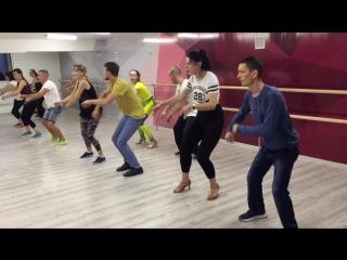 Учим кубинскую Румбу на уроках Сальсы в Dance Life