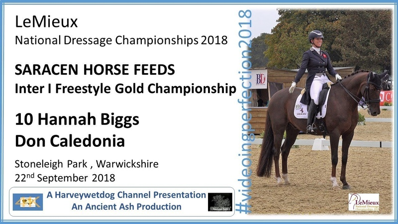 LeMieux National Dressage Championships: Hannah Biggs Don Caledonia