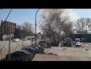Пожар на Уфимском шоссе