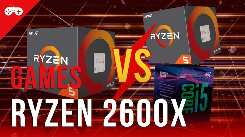 Comparativo em games: Ryzen 5 2600X vs 1600X e Intel Core i5-8400