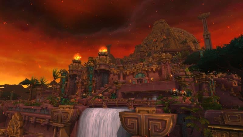 World of Warcraft BFA Героический рейд