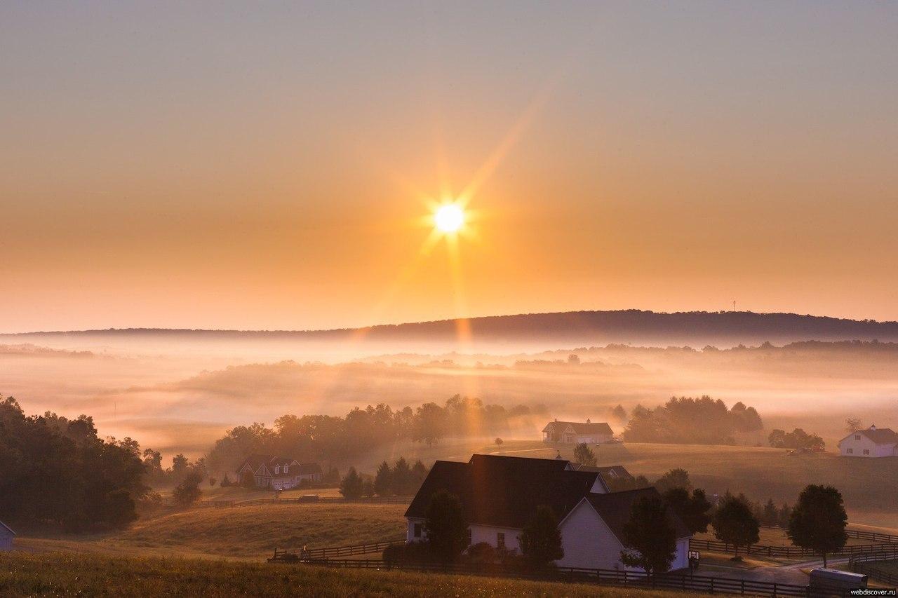 Красивое утро на бэби ру