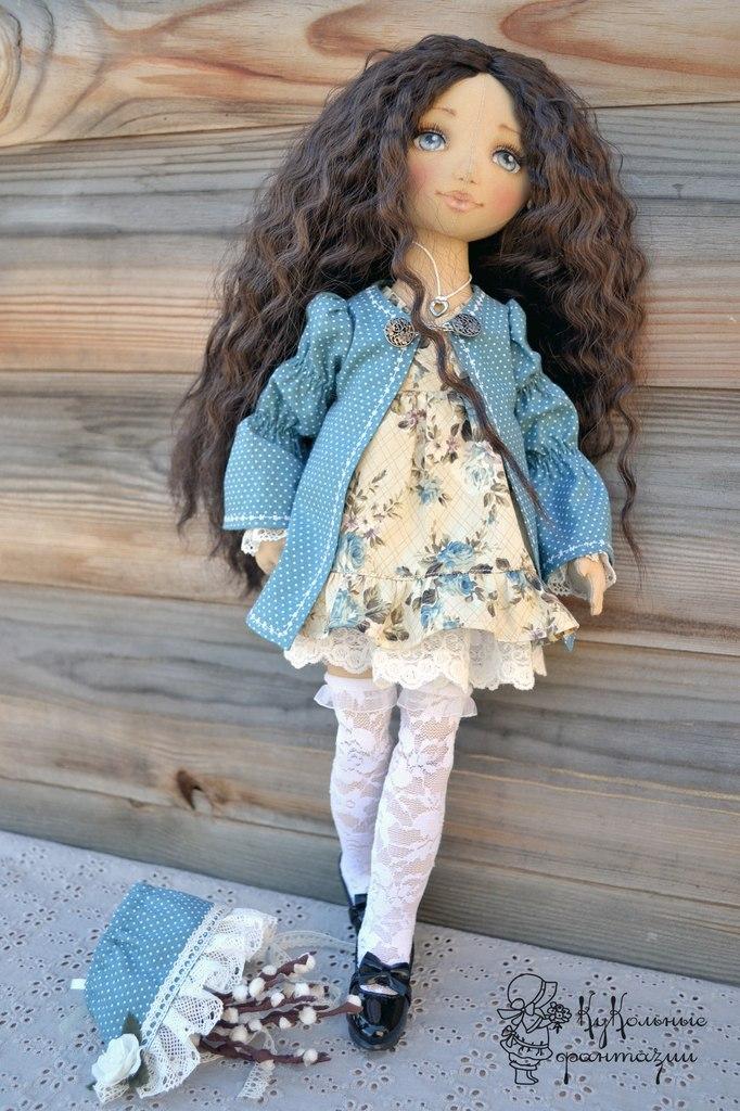 Современные текстильные куклы