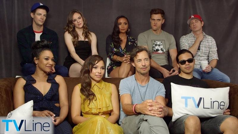 The Flash Cast Previews Season 5, Nora, Cicada Villain | Comic-Con 2018 | TVLine
