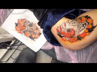 Tattoo by sasha doberman