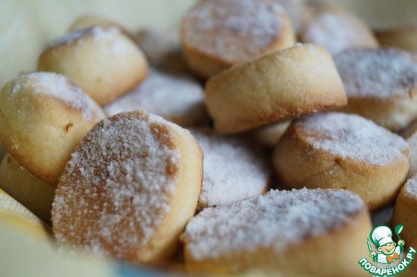 Мягкое песочное печенье рецепт с фото пошагово