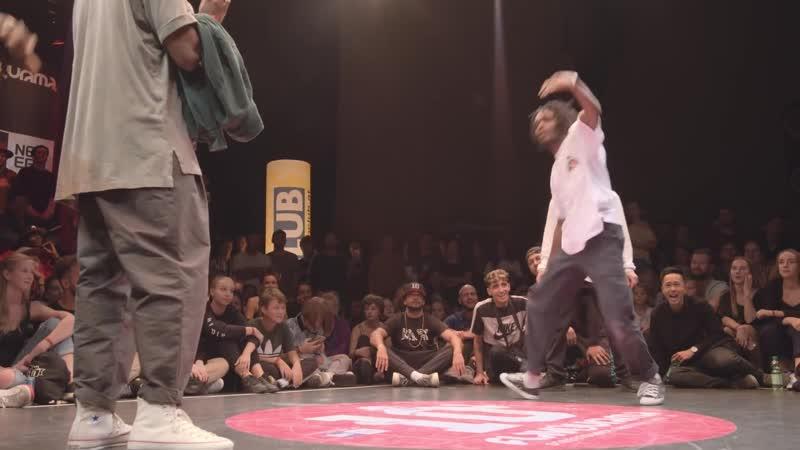 Flavourama 2018 ¦ Hip Hop Semifinal Majid _u0026 Franky Dee (GER) vs. Jimmy _u0026 Sam Yudat (FR)
